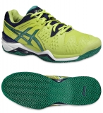 Herren Tennisschuhe Asics Gel Resolution 6 Clay E503Y-0588