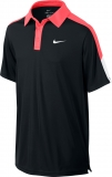 Kinder Tennispoloshirt NIKE Team Court - 642071-011 schwarz