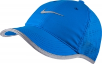 Damen Tennis Kappe Nike Run Knit Mesh Cap 810138-406 blau