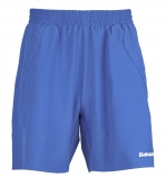 Jungen Tenniskurzehose Babolat Short Match Core blau