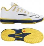 Herren Tennisschuhe Nike Lunar Ballistec 1.5 weiss/gelb 705285-107
