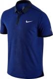 Pánské tenisové tričko Nike Court Advantage RF 729281-455 modré