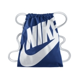 c7e0a069e58 Nike GymSack - batůžek - taška na boty - modrý s nápisem BA5128-411