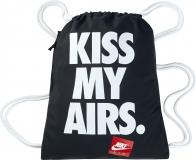 Nike GymSack - batůžek - taška na boty - černý s nápisem BZ9746-011