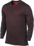 Tenisové tričko Nike LONGSLEEVE WOOL HENLEY 631641-635