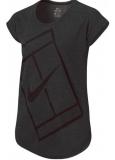 Mädchen Tennis T-Shirt Nike Baseline Top 822280-010