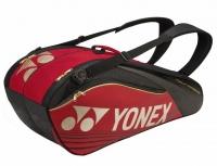 Tenisový bag Yonex Pro Racquet Bag 9 červeno-zlatý - serie 9629
