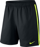 Tennis Kurzehose Nike Court 7´´ 645043-013 schwarz / neon gelb