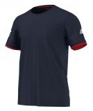Tenisové tričko Adidas Club Practice Tee AX8146 modré
