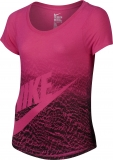 Mädchen T-Shirt Nike Futura 828454-616