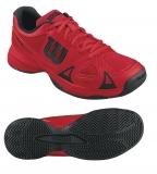 Kinder Tennisschuhe Wilson Rush Pro Junior WRS321550 rot