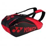Tenisový bag Yonex Pro Racquet Bag 6 Limited červený - série 9626
