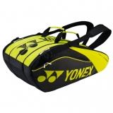 Tenisový bag Yonex Pro Racquet Bag 9 Limited černo-zelený - serie 9629