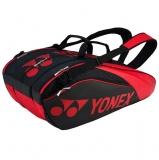 Tenisový bag Yonex Pro Racquet Bag 9 Limited červený - serie 9629