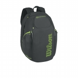 Tenisový batoh Wilson BLADE Vancouver Backpack černo-zelený