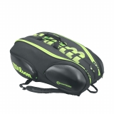Tenisový bag Wilson Vancouver Blade 15 Pack černo-zelený