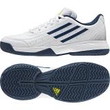 Dětská tenisová obuv Adidas Sonic Attack K bílá (AQ2817)