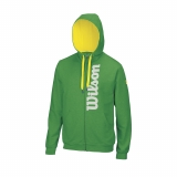 Tennis Jacke Wilson Heather Fern Green WRA740604 grün