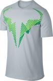 Tennis-T-Shirt Nike Court Rafael Nadal 831462-043 grau