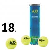 Tennisbälle WILSON Australian Open Karton 4er