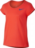 Mädchen-Tennis-T-Shirt Nike Dry 830545-852  rot