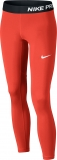 Mädchen-Leggins Nike Pro Trainings-Tights 819610-852 rot