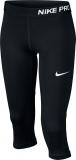 Mädchen Leggins Nike Pro Cool Capri 819608-010 schwarz