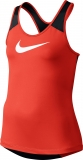 Dívčí tričko / top Nike Pro Cool Tank 727974-852 červeno-černý