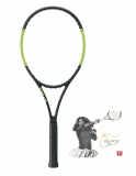 Tennisschläger Wilson BLADE SW 104 AUTOGRAPH COUNTERVAIL