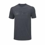 Tennis-T-Shirt Wilson UW Tech Tee Heather Ebony WRA758501