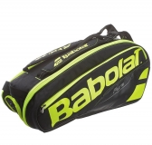 Tennisbag Babolat Pure AERO Black Fluoro Yellow RH X6 (751135) 2017