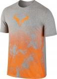 Tenisové tričko Nike Court Rafa Tee 831486-063 šedé