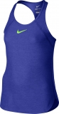 Mädchen Tennis T-Shirt Nike Slam Tank 724715-452 blau
