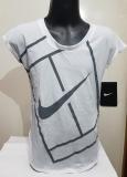 Mädchen Tennis T-Shirt Nike Baseline Top 822280-100 weiss