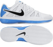Herren Tennisschuhe Nike Air Vapor Advantage Clay 819518-100 weiss