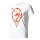 Pánské tričko Adidas Roland Garros Graphic Tee BQ2547
