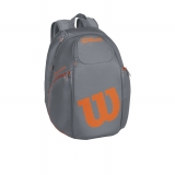 Tennisrucksack Wilson Burn Reverse Backpack grau