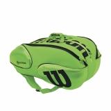Tenisový bag Wilson Vancouver BLADE 15 zeleno-černý