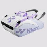 Tennistasche Yonex Pro 9er weiss /lila