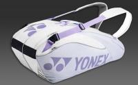Tennistasche Yonex Pro 6er weiss/lila Serie 9626