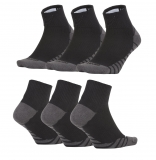 Tenisové ponožky Nike Dry Lightweight Quarter SX6941-010 černo-šedé