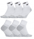 Tenisové ponožky Nike Dry Lightweight Quarter SX6941-100 bílé