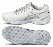 Tenisová obuv Asics Gel Resolution 7 Clay E702Y-0193 bílá
