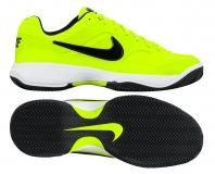 Dětská ANTUKOVÁ tenisová obuv Nike Court Lite Cly 845026-701 neonově žlutá
