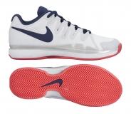Dámská tenisová obuv Nike ZOOM VAPOR 9.5 TOUR  Clay 649087-146 bílá s modrou