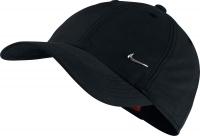 Kinder Tenniskappe  Nike Metal Swoosh 405043-010 schwarz