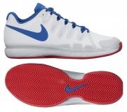 Tenisová obuv Nike Zoom Vapor 9.5 Tour Clay 631457-114 bílá / modrá