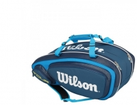 Tennisbag Wilson Tour V 9 Pack blau