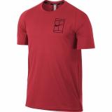 Tennis T-Shirt Nike Court Breathe 856402-653 rot