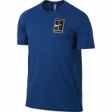 Tennis T-Shirt Nike Court Breathe 856402-433 blau